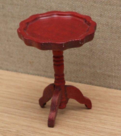 Dolls house mahogany wine table