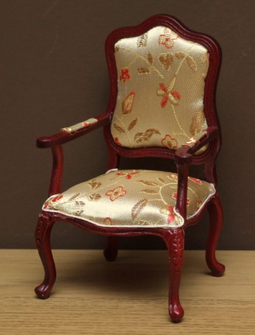 Dolls house carved chair