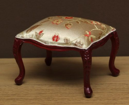 Dolls house carved stool