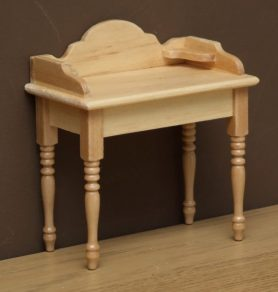 Dolls house pine wash stand