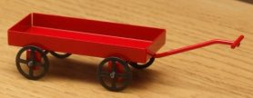 Dolls house toy cart