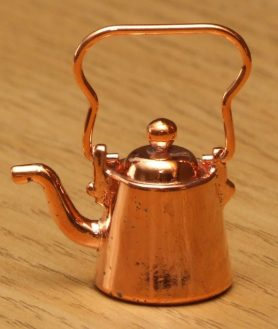 Dolls house copper kettle