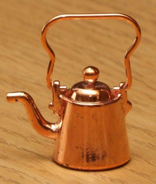 Dolls house copper kettle