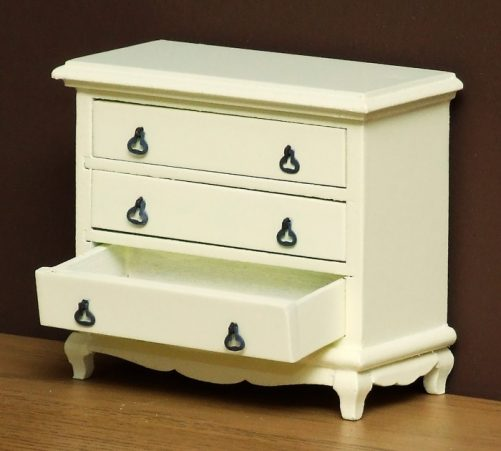 Dolls house drawers opening