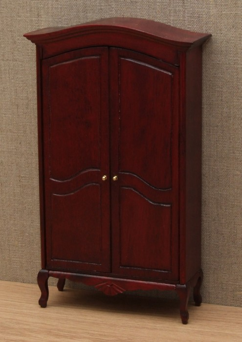 Elegant dolls house wardrobe