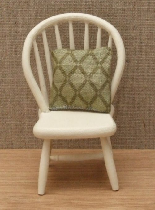 Dolls house spindle back chair