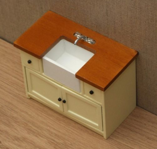 top of shaker style sink unit
