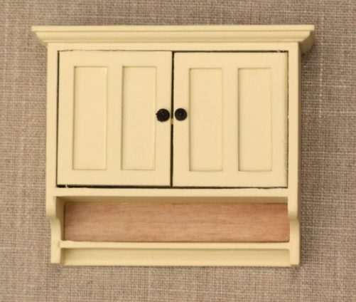 Dolls house shaker wall cabinet