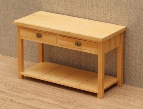 Dolls house side table