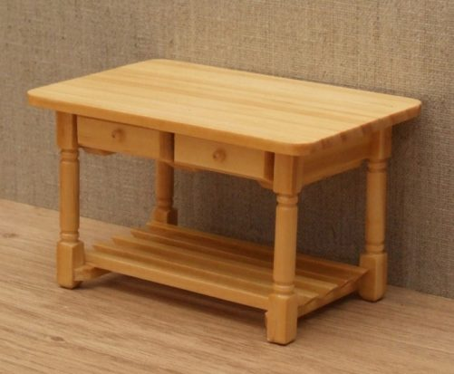 Dolls house kitchen side table