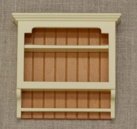 Shaker dolls house wall shelves