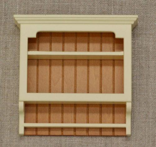 Shaker dolls house wall shelves