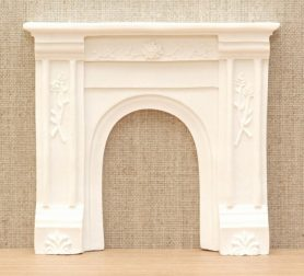 Victorian style dolls house fire surround