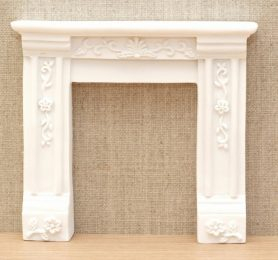 Georgian style dolls house fire surround