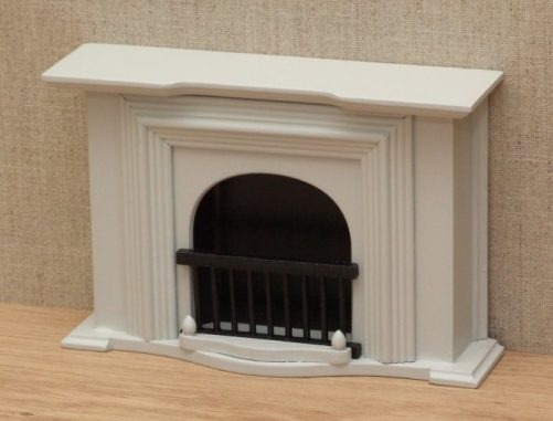 Georgian dolls house fireplace