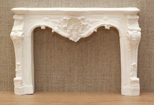 Louis the XV dolls house fire surround