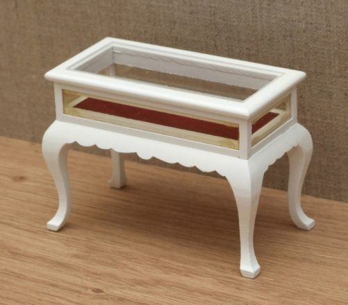 Dolls house Queen Anne display table