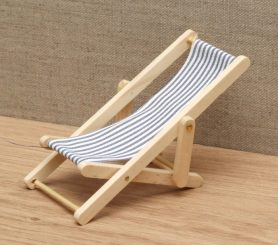 Dolls house beach deck chair