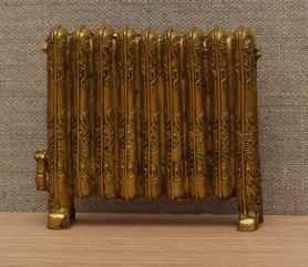 Gold dolls house Victorian radiator