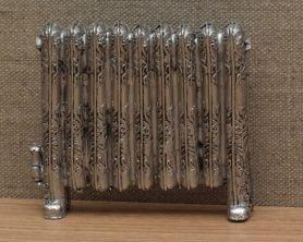 Silver dolls house radiator
