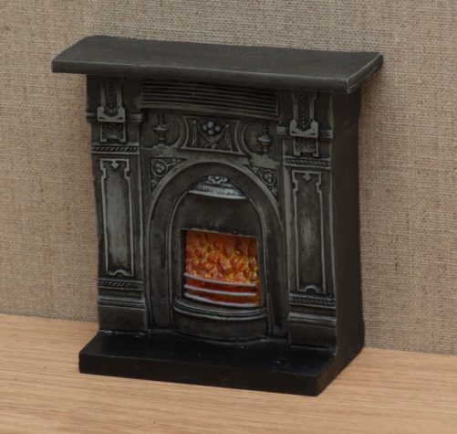 Dolls house Victorian Fireplace