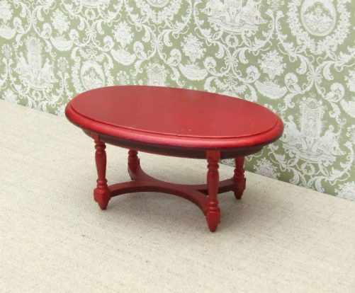 Dolls House Oval Coffee table
