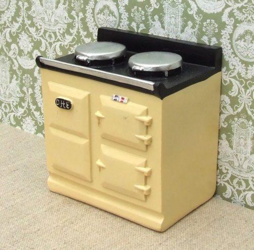 Dolls house Aga-style stove