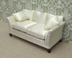 Cream Dolls house sofa