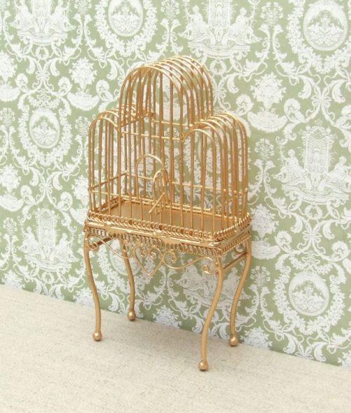 Dolls house bird cage