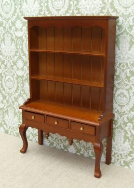 Oak dolls house dresser
