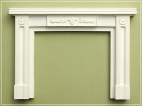 Dolls house fireplace surround WH0301