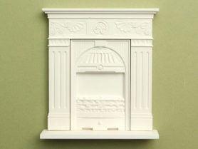 Small cast iron dolls house fireplace kit
